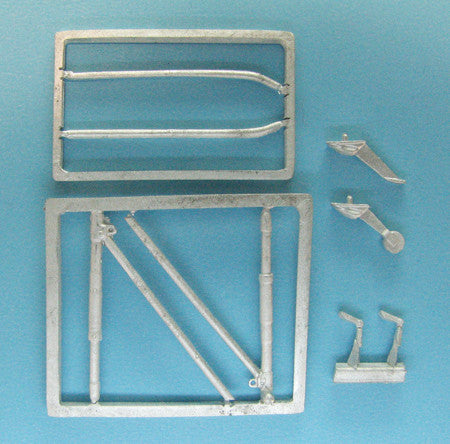 SAC 48235 I-16 Type 24/29 Landing Gear For 1/48th Eduard Model