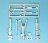 SAC 48238 Nesher/Mirage V Landing Gear For 1/48th Italeri Model
