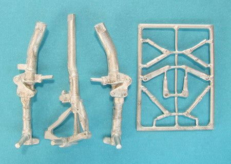SAC 48243 MiG-25 Foxbat Landing Gear (KH) for 1/48th  Scale Kitty Hawk Model