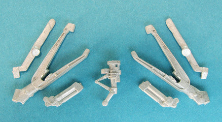SAC 48251 SH-2 Seasprite Landing Gear for 1/48th  Scale Kitty Hawk Model