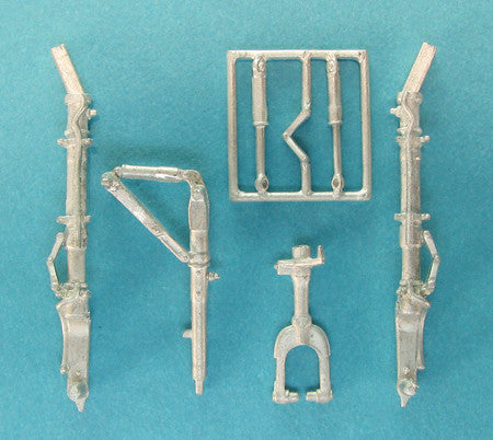 SAC 48254 J7W1 Shinden Landing Gear  for 1/48th  Scale Zoukei-Mura Model