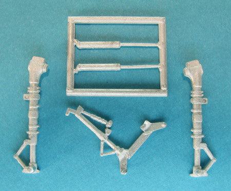 SAC 48255 LA-5 Lavochkin Landing Gear for 1/48th  Scale Zvezda/Eduard Model
