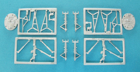 SAC 48257 Fouga Magister Landing Gear for 1/48th Scale Kinetic/Wingman Model