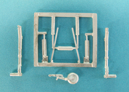 SAC 48260 Su-2 Landing Gear for 1/48th Scale Zvezda Model
