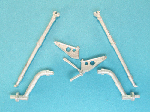 SAC 48261 CH-34 US Army Landing Gear for 1/48th Scale Gallery Model
