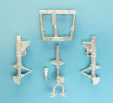 SAC 48269 F9F/F-9 Cougar Landing Gear improved for 1/48th Scale Kitty Hawk