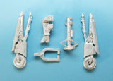 SAC 48271 Sea Harrier Landing Gear for 1/48th Scale Kinetic Model