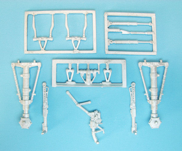 SAC 48272 F-106 Delta Dart Landing Gear for 1/48th Scale Trumpeter Model