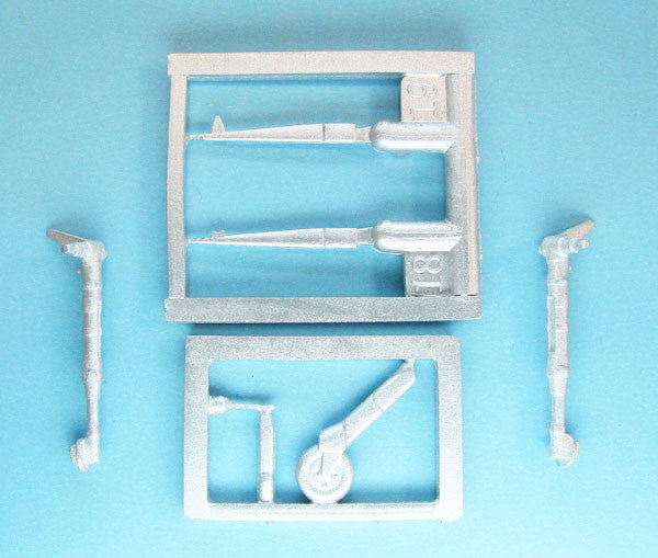 SAC 48282 Spitfire Mk.I , Mk.V Landing Gear for 1/48th Scale Airfix 2014 Model