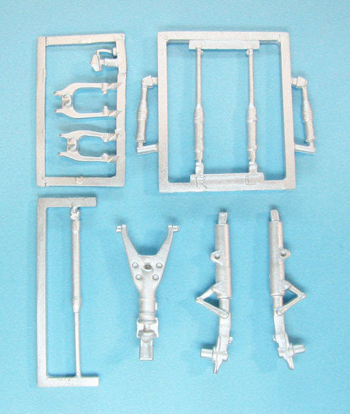 SAC 48283 Mirage III and V Landing Gear for 1/48th Scale Kinetic Model