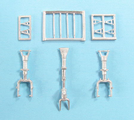 SAC 48294 SAAB J21 A-3 Landing Gear for 1/48th Scale Pilot Replicas Model