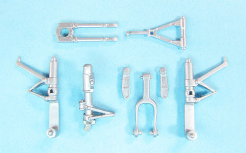 SAC 48317 F2H-2 Banshee Landing Gear For 1/48th Scale Kitty Hawk Model