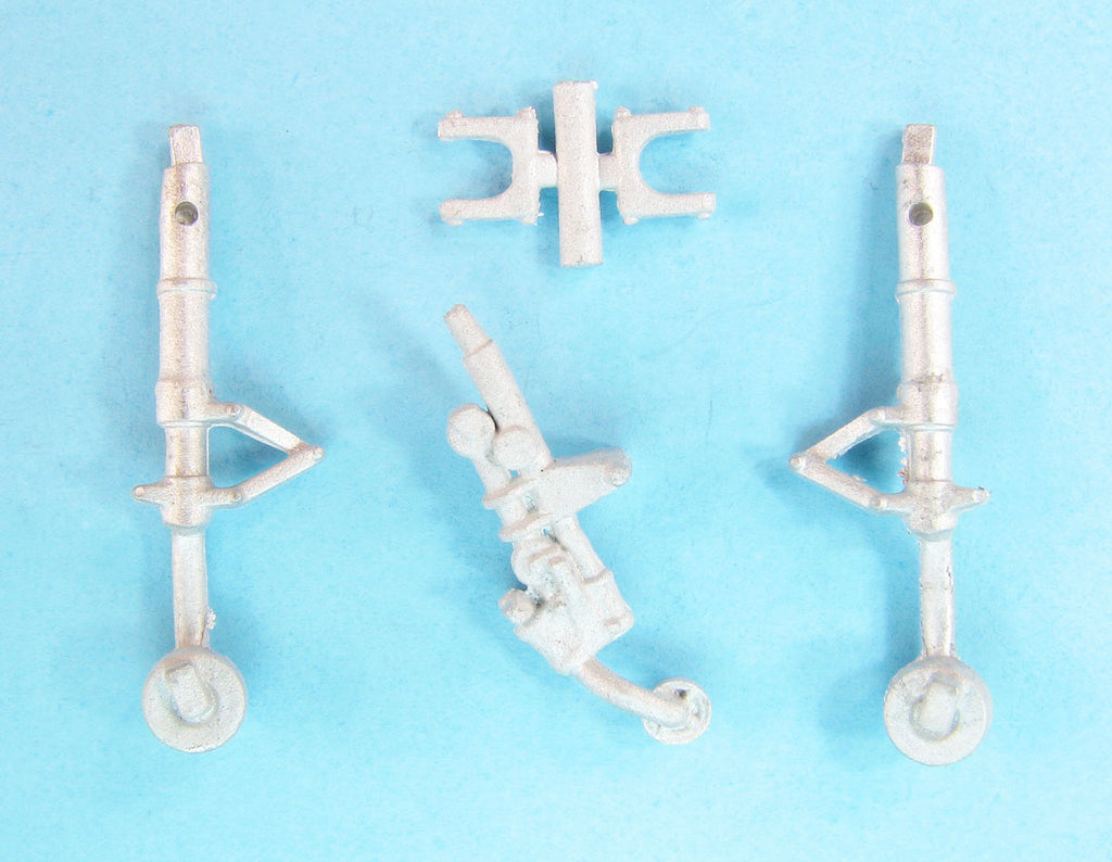 SAC 48344 P-51D Mustang Landing Gear (Ax) replacement for 1/48th Scale Airfix Model