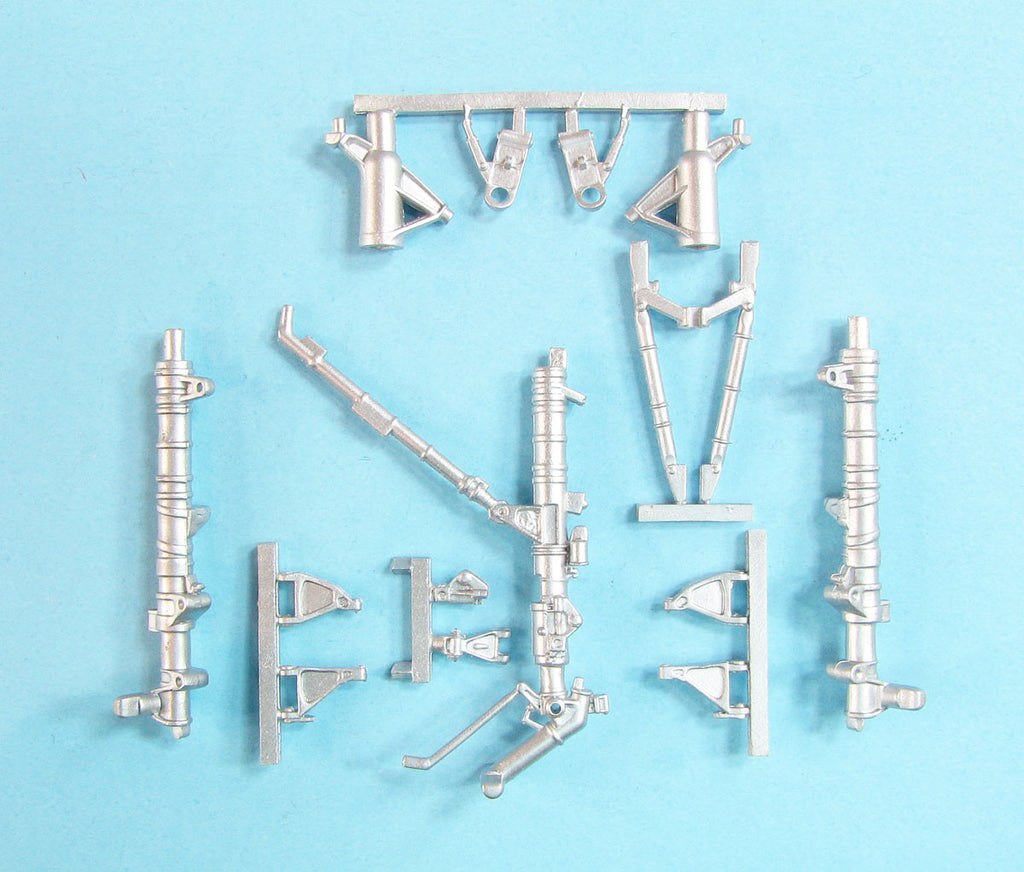 SAC 48355 Su-35S Flanker E Landing Gear replacement for 1/48th Great Wall Hobby