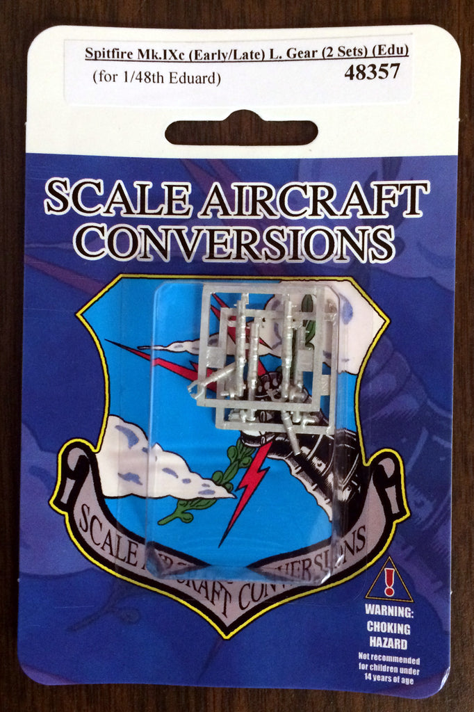 SAC 48357 Spitfire Mk.IXc (Early / Late) Landing Gear replacement for 1/48th Eduard (2 Sets)