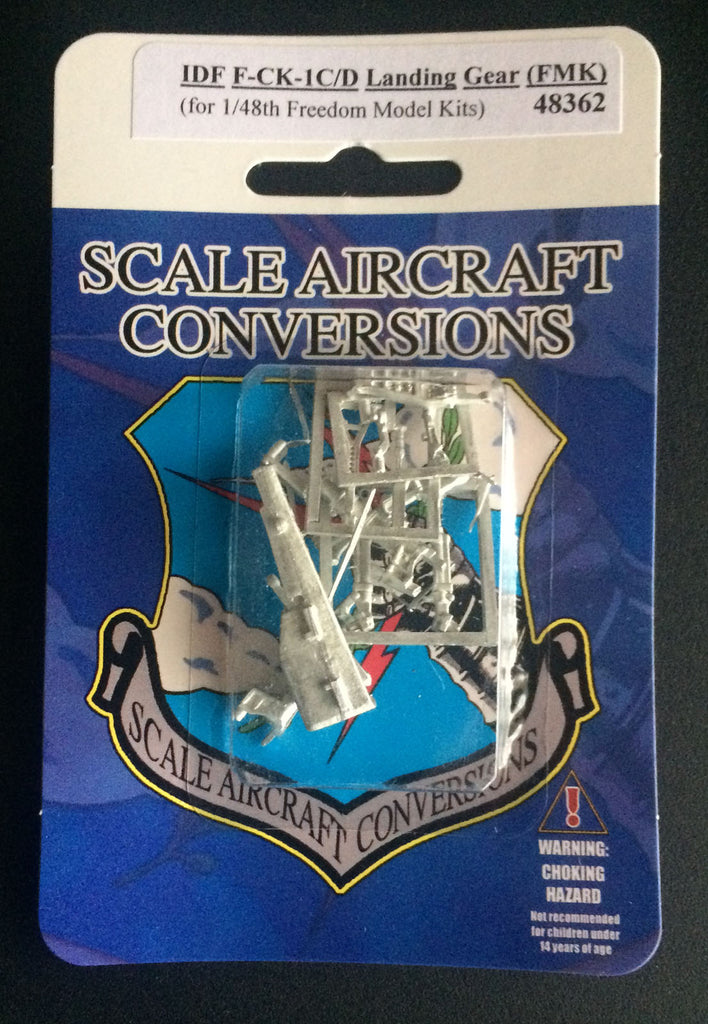 SAC 48362 IDF F-CK-1C/D Landing Gear replacement for 1/48th Freedom Models