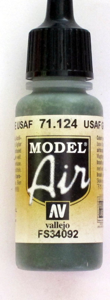 71124 Vallejo Model Airbrush Paint 17 ml USAF Green