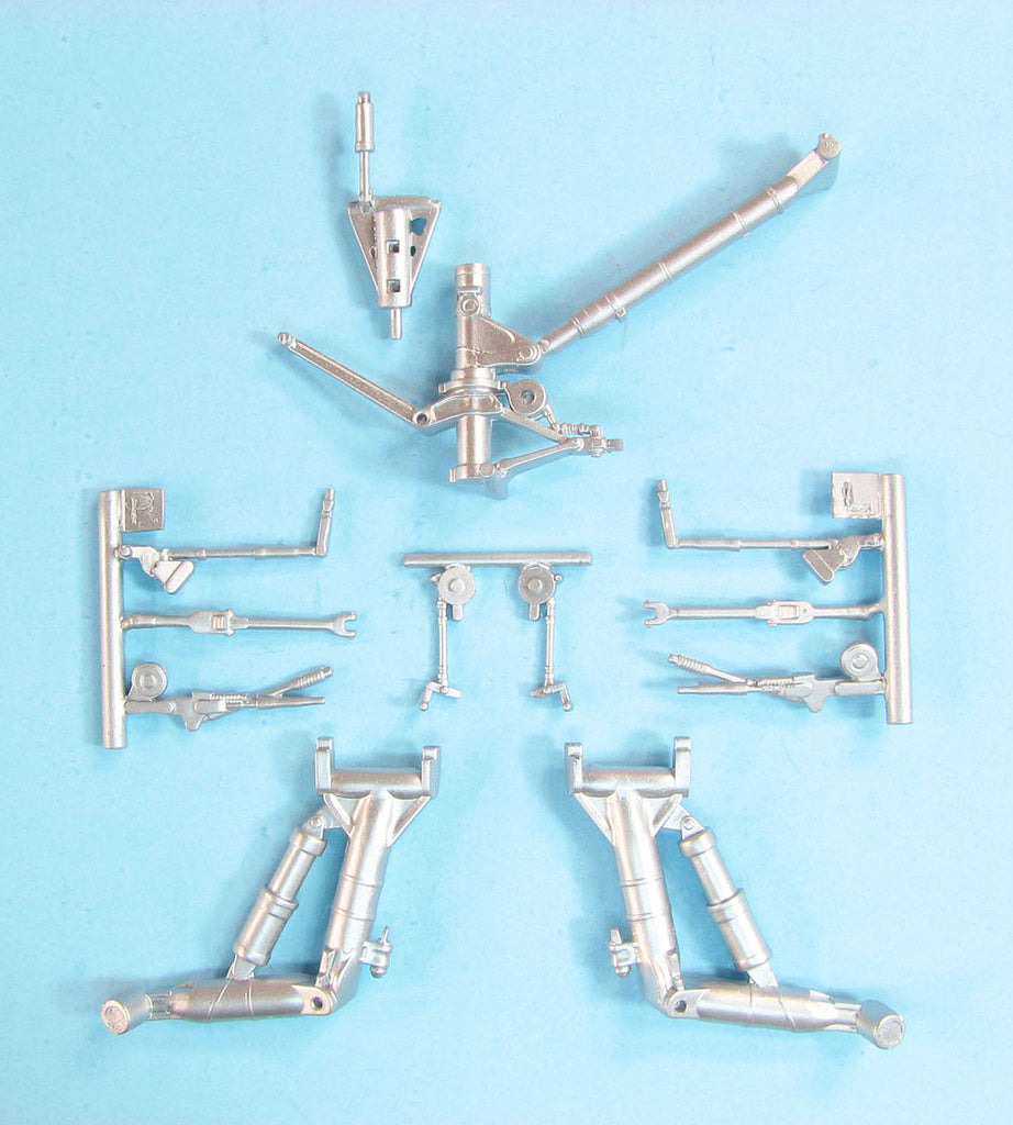 SAC 48310 F/A -18 A/B/C/D Hornet Landing Gear For 1/48th Scale Kinetic Model