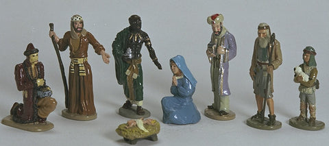 Kit# 9611set - Nativity Scene - Complete Set