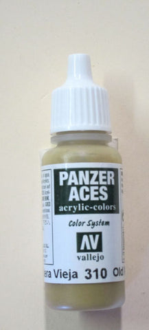 70310 Vallejo Panzer Color Paint: 17ml  Old Wood