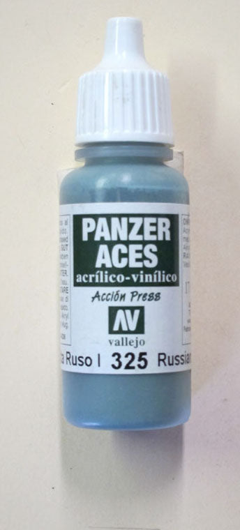 70325 Vallejo Panzer Color Paint: 17ml  Russian Tank Crew I