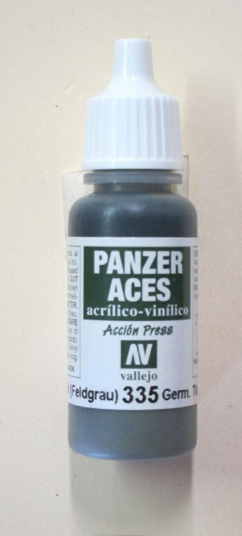70335 Vallejo Panzer Color Paint: 17ml  German (Feldgrau 2)