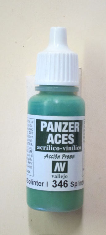 70346 Vallejo Panzer Color Paint: 17ml  Splinter Blotches