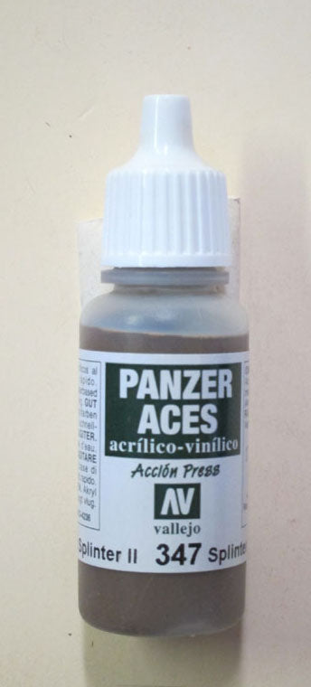 70347 Vallejo Panzer Color Paint: 17ml  Splinter Blotches II