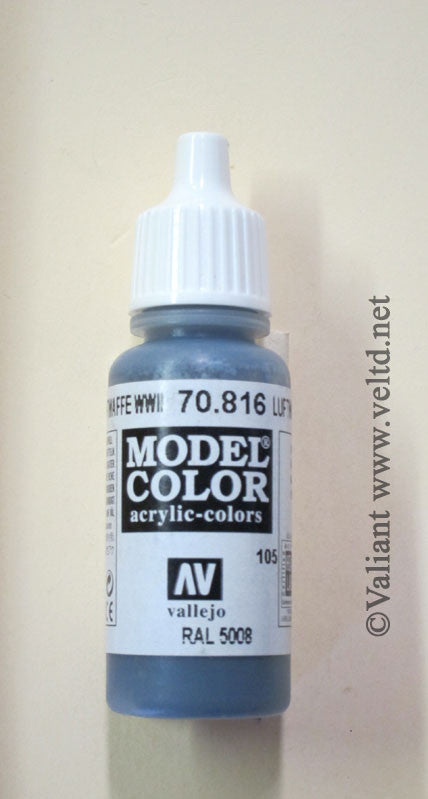 70816 Vallejo Model Color Paint: 17ml  Luftwaffe Uniform  (M105)