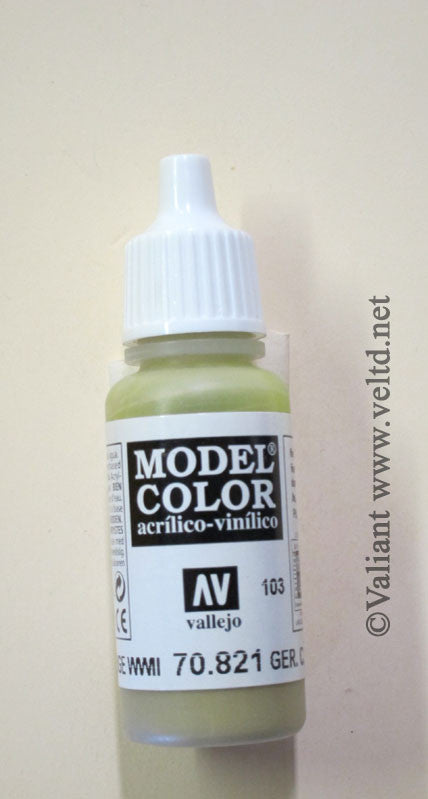 70821 Vallejo Model Color Paint: 17ml German Camo Beige  (M103)