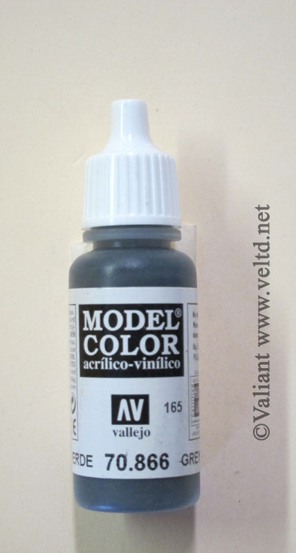 70866 Vallejo Model Color Paint: 17ml  Grey Green  (M165)