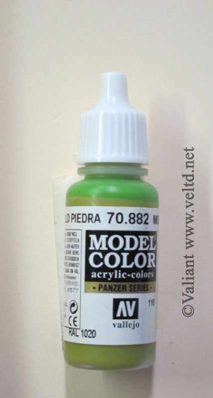 70882 Vallejo Model Color Paint: 17ml  Middlestone  (M118)