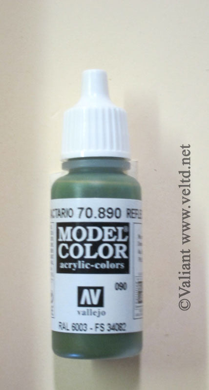 70890 Vallejo Model Color Paint: 17ml  Reflective Green  (M090)