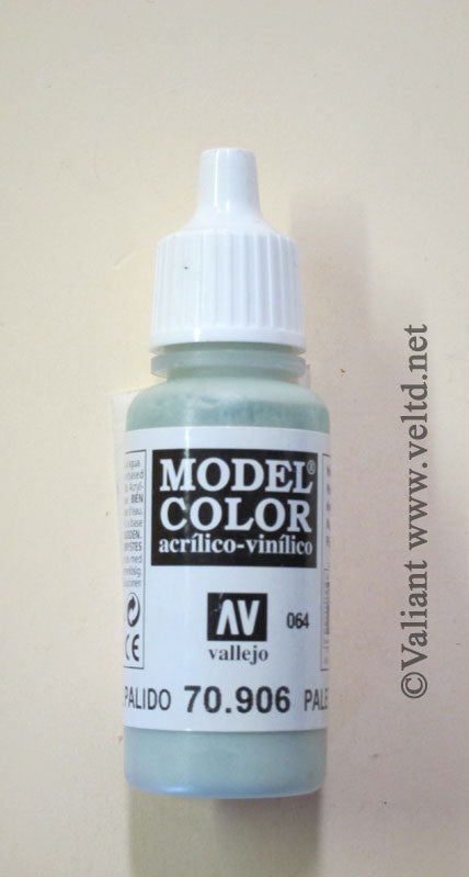 70906 Vallejo Model Color Paint: 17ml  Pale Blue  (M064)