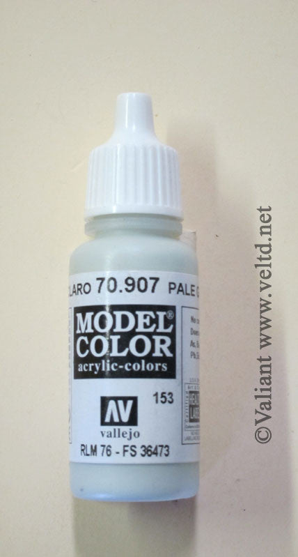70907 Vallejo Model Color Paint: 17ml  Pale Grey Blue  (M153)