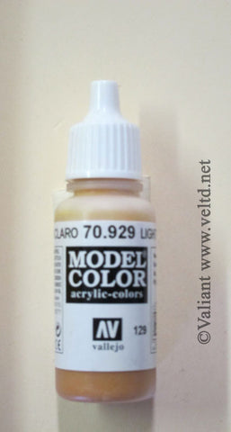 70929 Vallejo Model Color Paint: 17ml  Light Brown  (M129)