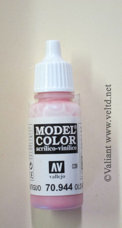 70944 Vallejo Model Color Paint: 17ml  Old Rose  (M039)