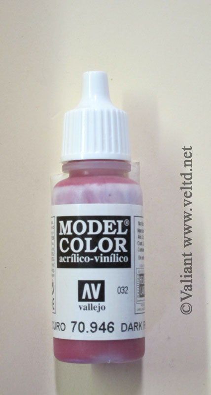 70946 Vallejo Model Color Paint: 17ml  Dark Red  (M032)