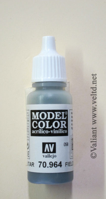 70964 Vallejo Model Color Paint: 17ml  Field Blue  (M058)