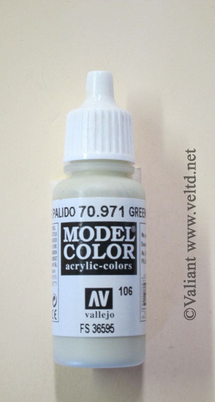 70971 Vallejo Model Color Paint: 17ml  Grey Green Grey (M106)