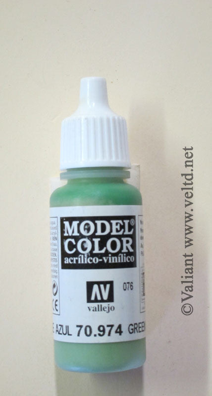 70974 Vallejo Model Color Paint: 17ml  Green Sky  (M076)