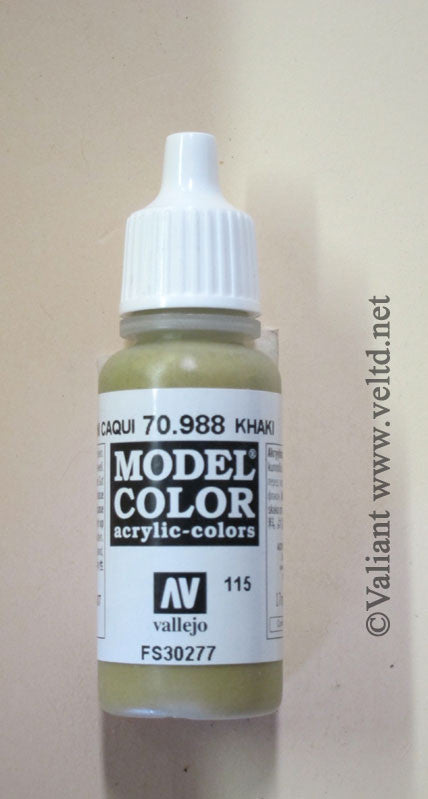 70988 Vallejo Model Color Paint: 17ml  Khaki  (M115)