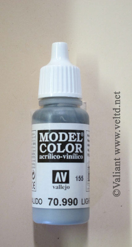 70990 Vallejo Model Color Paint: 17ml  Light Grey  (M155)
