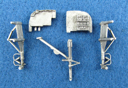 SAC 72008   A-26/B-26 Invader  Landing Gear For 1/72nd Scale Italeri / Revell