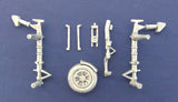 SAC 72025 Black Widow Landing Gear For 1/72nd Scale Dragon / DML Model