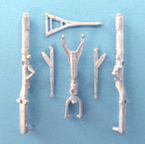 SAC 72034 F-105 Thunderchief Landing Gear For 1/72nd Scale Trumpeter Model