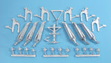 SAC 72042   A400M Grizzly Landing Gear for 1/72nd Scale Revell