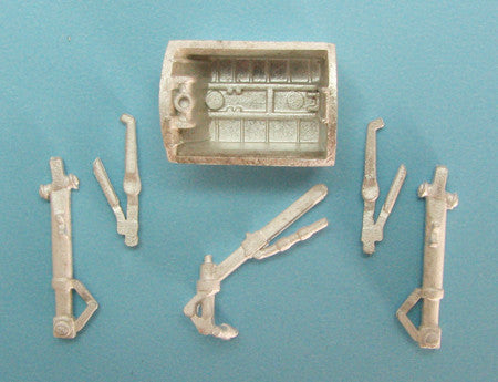 SAC 72054 E. E. Canberra Landing Gear for 1/72nd Scale Airfix Model