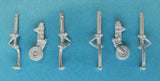 SAC 72057 P-51 Mustang IV Landing Gear For 1/72nd AirFix Model