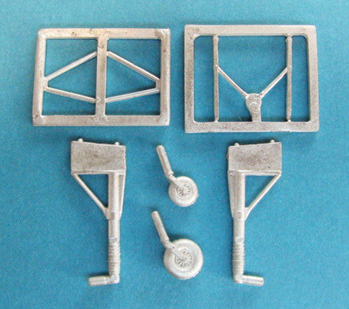 SAC 72058 Bf 110 Landing Gear For 1/72nd Eduard Model